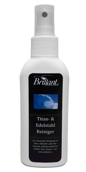 Brillant Titan- und Edelstahlreiniger 125 ml