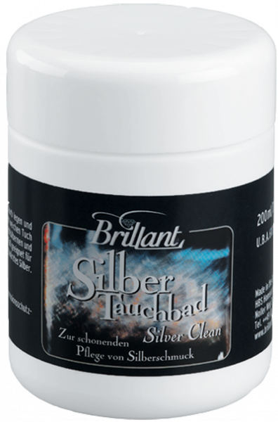 Brillant Silber Tauchbad 200 ml